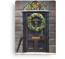 Sherlock Christmas 221 b Canvas Print