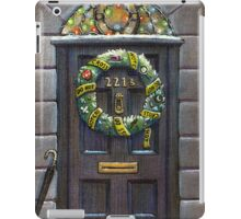 Sherlock Christmas 221 b iPad Case/Skin