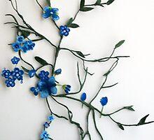 making flowers by snowkittin