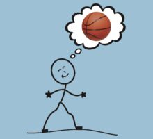 Thinking of basketball by Lorie Warren