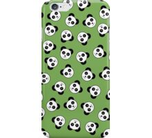 Bamboo Cartoon Pandas iPhone Case/Skin