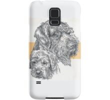 German Wire-haired Pointer, Father and Son Samsung Galaxy Case/Skin