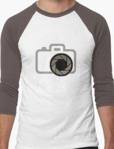 Isowear.com - Click. Men's Baseball ¾ T-Shirt