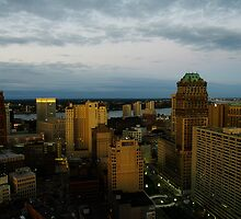 Sunrise from the broderick. by Michael Gatch