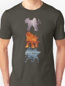 Raikou, Entei, Suicune (elements) Unisex T-Shirt
