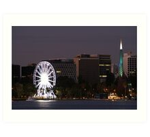 Perth Attractions ~ Australia Art Print