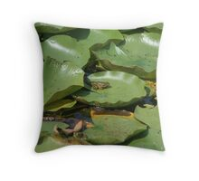 Hop On Over To My Pad Throw Pillow