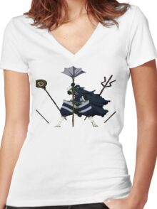 Mystogan - fairy tail Women's Fitted V-Neck T-Shirt
