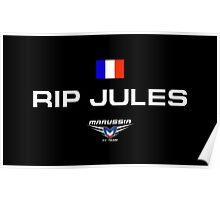 RIP Jules Bianchi Poster