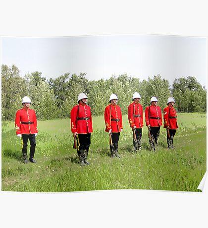 Northwest Mounted Police Regiment Poster