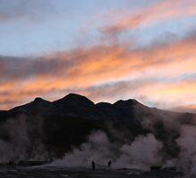 El Tatio geyser field by Michelle Thomson