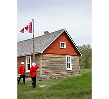 The Flag Raising, Canada Day 2010 Photographic Print