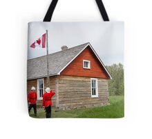 The Flag Raising, Canada Day 2010 Tote Bag