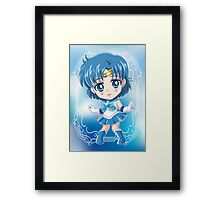 Chibi Sailor Mercury Framed Print