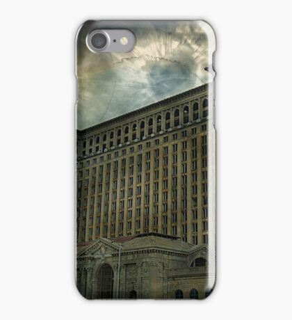 Detroit, Michigan Central Station iPhone Case/Skin