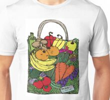 The Best Vegetable shopping bag in the world. Chocolate Hidden Unisex T-Shirt