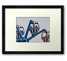 Up, Up, and Away... Framed Print