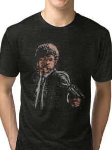 the path of the righteous man Tri-blend T-Shirt