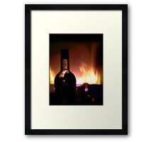 Something good, something warm Framed Print