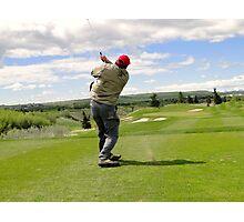 Golf Swing J Photographic Print
