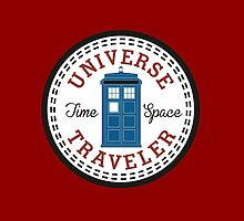 Doctor Who Converse Time Traveller by illustore