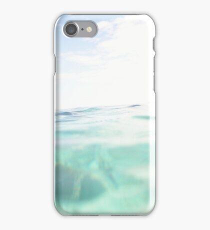 Mid water shot on Kapalai dive resort iPhone Case/Skin