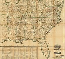 The Historical Civil War Map (1862) by allhistory