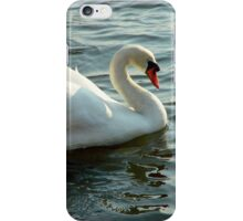 Graceful Blue Eyed Swan iPhone Case/Skin