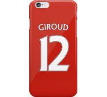 Arsenal - Giroud (12) 2015/16 iPhone Case/Skin
