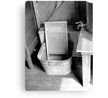 Ready For Laundry  Canvas Print