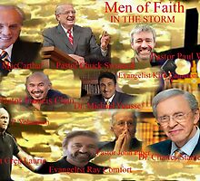 Men of Faith in the storm by Matty B. Duran