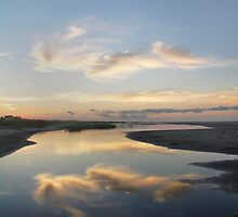 Sunrise over Tidal Pool by Jay Reed