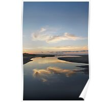 Sunrise over Tidal Pool Poster