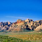 The Mountains of Red Rock Canyon by Roland Pozo