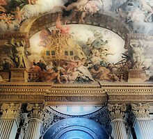 Painted Hall Ceiling by Karen Martin