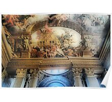 Painted Hall Ceiling Poster