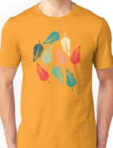 Leave Me Indigo (Aqua Red) Unisex T-Shirt