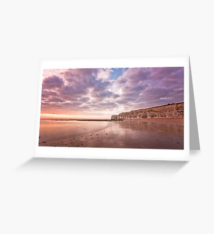 White Ness Cliffs Greeting Card