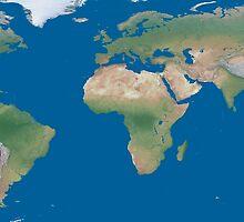 World Wide Map by boxsmasher