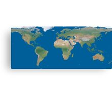 World Wide Map Canvas Print