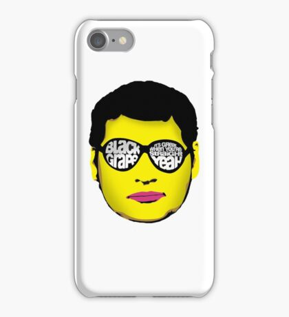 Black Grape - It's Great When You're Straight Yeah iPhone Case/Skin