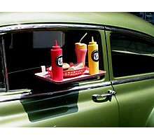 Sun tanned 1950s milkshake Photographic Print