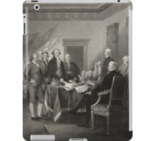 Signing the Declaration of Independence iPad Case/Skin
