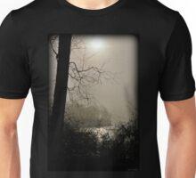 Foggy Winter Hike Unisex T-Shirt