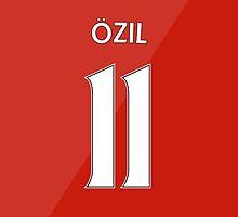 Arsenal - Ozil (11) 2015/16 by Thomas Stock