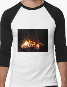 Fiery Men's Baseball ¾ T-Shirt