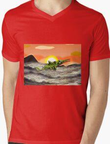 Ichthyosaurus Mens V-Neck T-Shirt