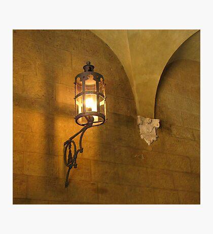 Welcome in The Palazzo Chigi Saracini - Siena Photographic Print