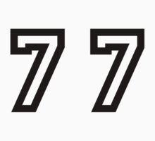 Number Seventy Seven by sweetsixty
