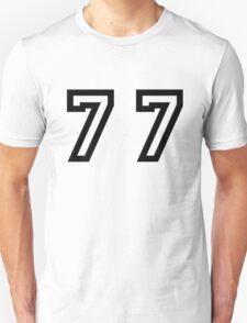 Number Seventy Seven T-Shirt